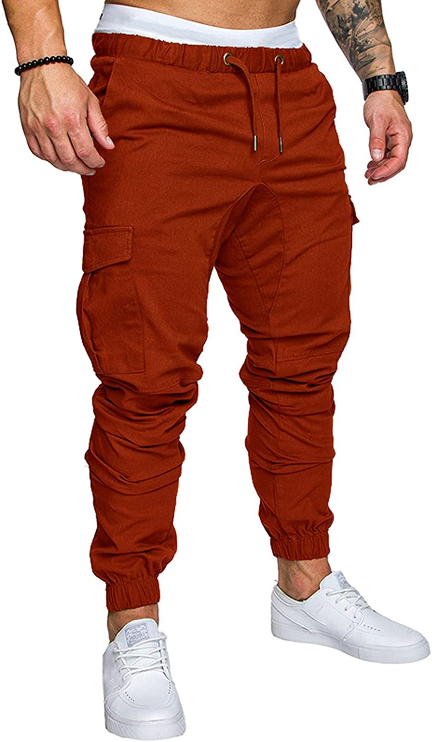 specialty shop raillery Men's Cotton Cargo Pants Fit Free Shipping Cheap Bargain Gift Casual Jogger Slim