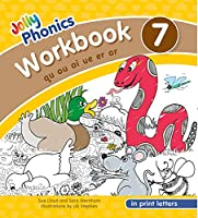 Jolly Phonics Workbook 7 in Print Letters