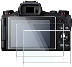 Screen Protector for Canon PowerShot G1 X Mark iii G1X III Canon G9X G9 X Mark II G9X II Canon G7X G7 X Mark II G7X II Camera,debous Anti-Finger Optical Hard Tempered Glass Film (3pack)