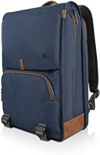 "Lenovo 15.6"" Laptop Urban Backpack B810, 15.6-Inch Laptop or Tablet, Sturdy, Water-Resistant Fabric, Padded Compartment, Anti-Theft Pocket, Business Casual, Travel or School, GX40R47785, Blue"