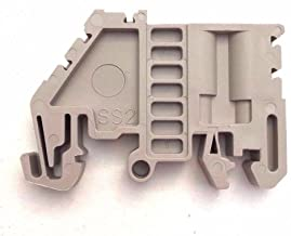 Dinkle SS2 DIN Rail Terminal Block End Bracket (Pack of 50)