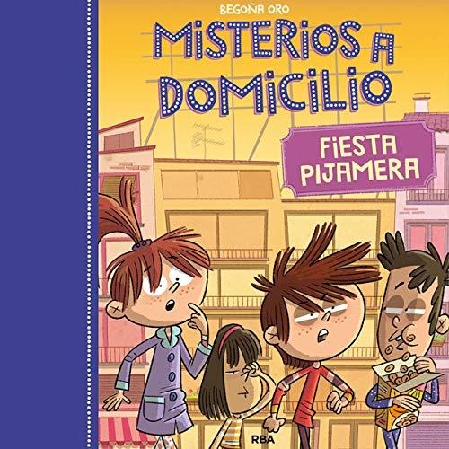 Diseño de la portada del título Fiesta Pijamera