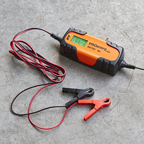 PROenerg - Chargeur electronique 6/12V 4A PROenerg 40A