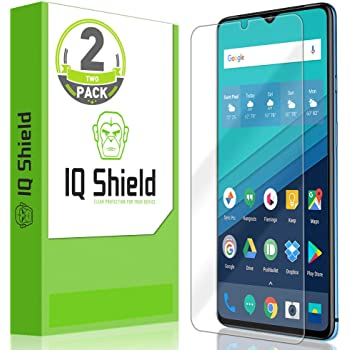 IQ Shield Screen Protector Compatible with OnePlus 7T (2-Pack) Anti-Bubble Clear Film