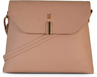 Baggit Women's Satchel Handbag (Peach)