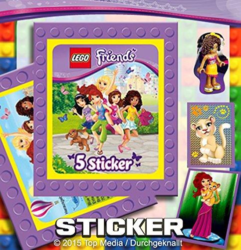 LEGO Friends Sticker Display