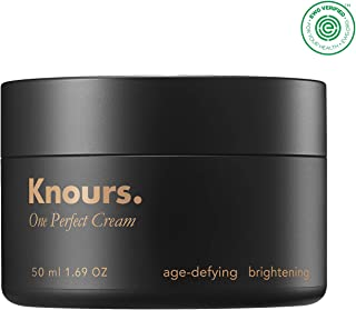Knours. - One Perfect Cream | Nourishing, Anti-Aging, Brightening Face Moisturizer | Soothes Skin and Prevents Wrinkles | (50ml/1.69 oz.) - EWG Verified Clean Beauty