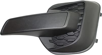 DAT AUTO PARTS Fog Hole Cover Replacement for 2010-2015 Chevrolet Equinox for All LS Models LT Without FOGS Left Driver Side Black GM1038128
