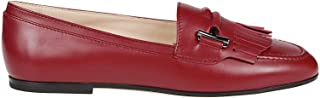 Tod's Luxury Fashion Womens XXW35B0BV40G0CR409 Red Loafers | Fall Winter 19
