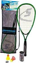 Speedminton Start Set - Original Speed Badminton/Crossminton Starter Set Including 2 Rackets, 2 Speeder, Mesh Bag