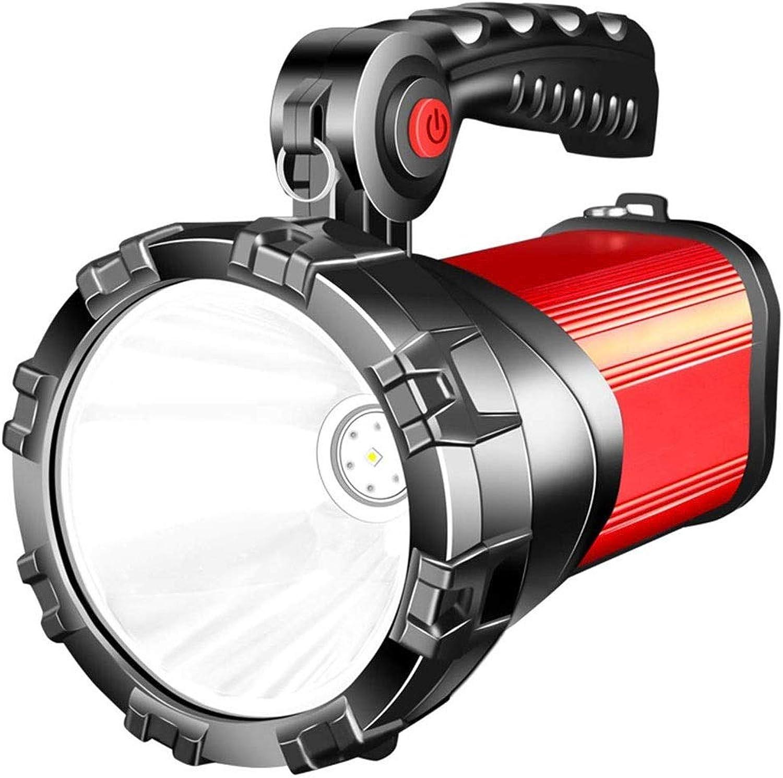 FANQIECHAODAN Wiederaufladbare 1000 Lumen Lumen Lumen Superheller LED-Scheinwerfer-Scheinwerfer-Taschenlampe Langlebige Batterielebensdauer, Anti-Schock, tragbares Multifunktions-Erkennungslicht B07Q5MNMWF | Gemäßigten Kosten  71d416