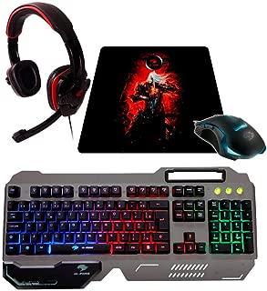 Kit Acessórios Gamer, G-Fire, Teclados, Preto