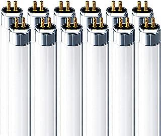 Luxrite LR20805 (12-Pack) F28T5/835 28-Watt 4 FT T5 Fluorescent Tube Light Bulb, Natural 3500K, 2470 Lumens, G5 Mini Bi-Pin Base