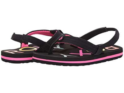 Roxy Kids Vista III (Toddler) (Black) Girl