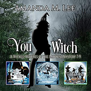 You Witch: A Wicked Witches of the Midwest Mystery, Books 7-9 audiobook cover art
