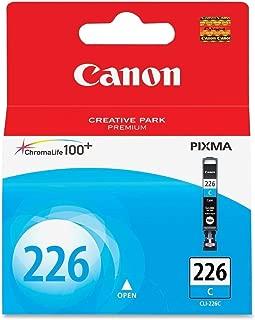 Canon CLI-226 Cyan Ink Tank Compatible to iP4820, MG5220, MG5120, MG8120, MG6120, MX882, iX6520, iP4920, MG5320, MG6220, MG8220, MX892