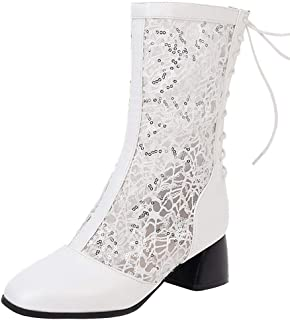 Melady Women Fashion Summer Booties