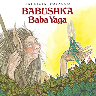 Babushka Baba Yaga audiobook cover art