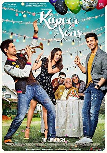 KAPOOR & SONS (Hindi mit Englischem Untertitel) - Original Bollywood DVD - Siddharth Malhotra, Alia Bhatt, Rishi Kapoor & Karan