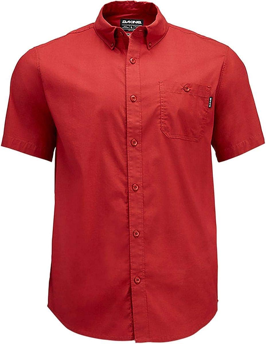 Dakine Mosier Woven Short-Sleeve Shirt - Men's Deep Red, S