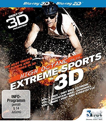 Best of 3D - High Octane: Vol. 1 - Vol. 3: Extreme Biking 3D [3D Blu-ray] (BMX - Mountain Bike)