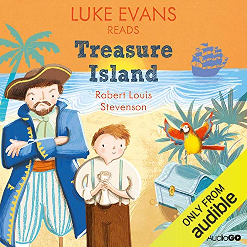 Luke Evans reads Treasure Island copertina