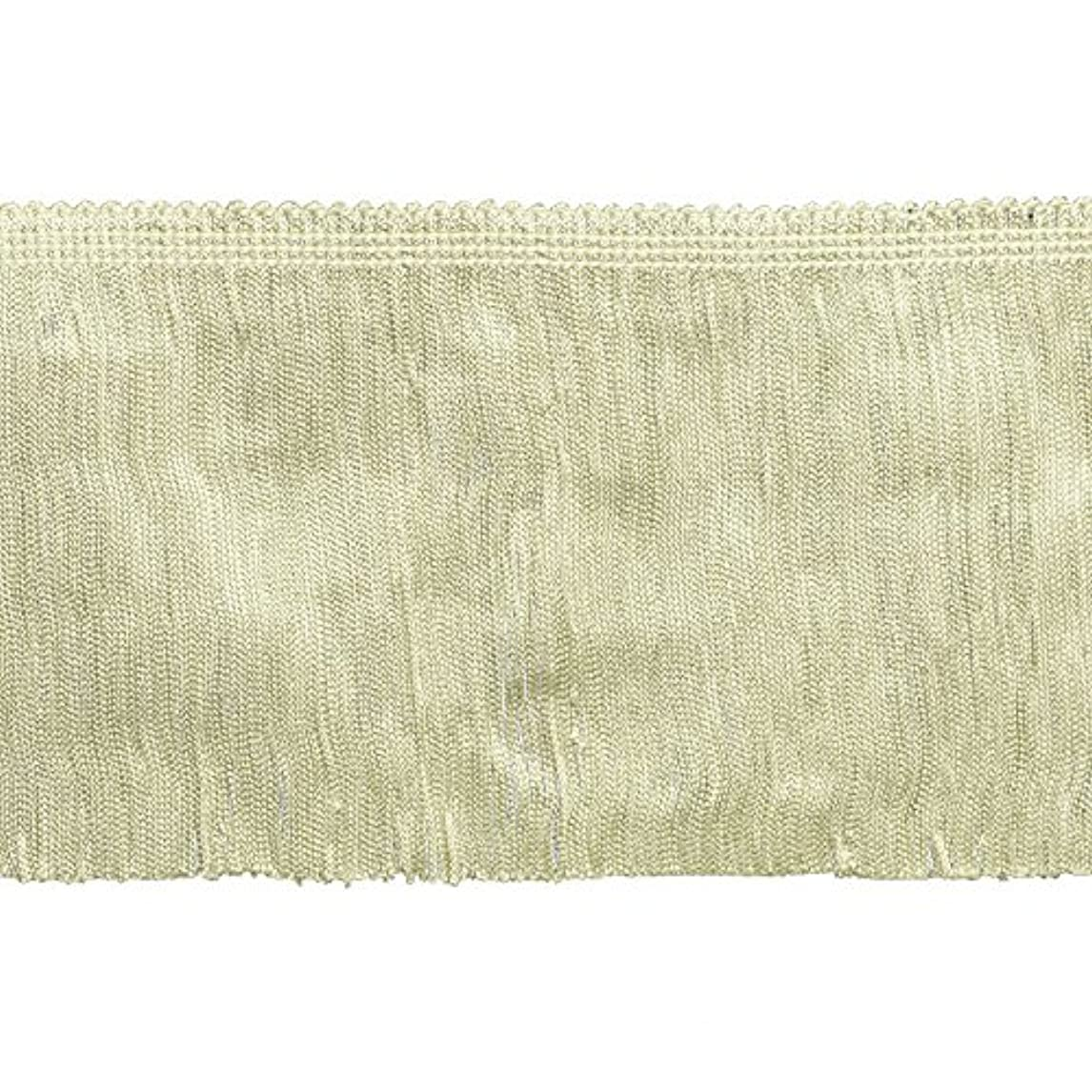 Decorative Trimmings 100% Rayon Chainette Fringe, 6