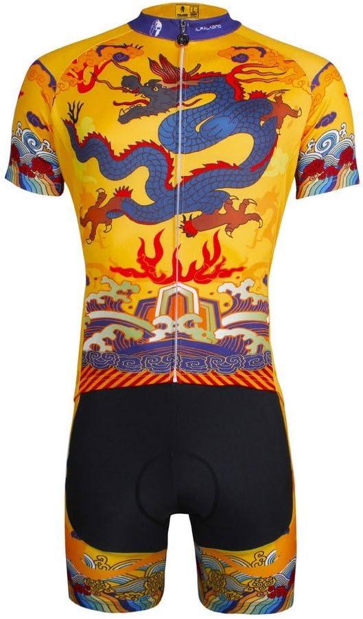 PaladinSport Men's Short 開店記念セール Sleeve Cycling Shorts Bike Jersey and S 中古
