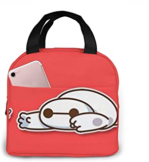 Lunch Bag Lovely Baymax Insulated Lunch Box For Men & Women Meal Prep Lunch Tote Bag
