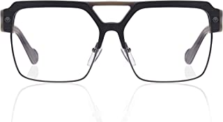 Kingsley Rowe Sloan :Square, Classic, Retro, Rxable, Nerd, Optical Glasses Frames,Unisex