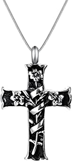 Best cross cremation urn necklace Reviews