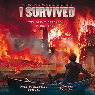 I Survived the Great Chicago Fire, 1871 cover art