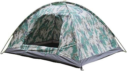 Weiwei Camping Tente Double, Tente Double Extérieure De Camouflage Tente De Plage Voyage
