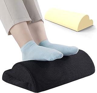 Adjustable Desk Foot Rest for Added Height (Mesh) - Large Premium Under Desk Footrest | Pet-Friendly Foot Rest Under Desk ...