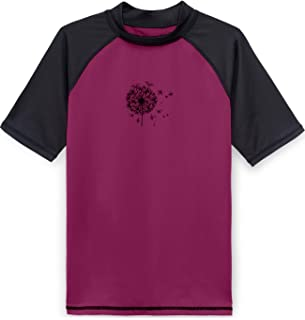 Tesla Boys & Girls UPF 50+ Short Sleeve Rashguard Youth Surf Kids Swim Top BSR15 GSR25 BSS30