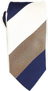 (サルトリアスペランザ)Sartoria Speranzaネクタイ 日本製 シルク100% ブロックストライプ