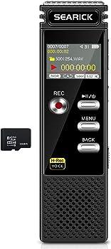 Searick 4GB Portable Voice Recorder