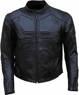 coolhides Men's Oblivion Genuine Leather Motorcycle Jacket