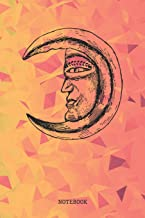 Notebook: Full Moon Planner / Organizer / Lined Notebook (6