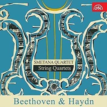 Beethoven: String Quartets in C Major - Haydn: String Quartet in B-Flat Major, Op. 103