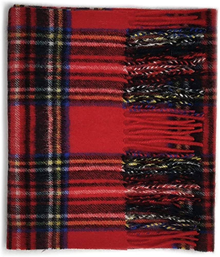Kiltane of Scotland 100% NEW before selling ☆ Pure Selling and selling Cashmere Soft and Scar Tartan Warm