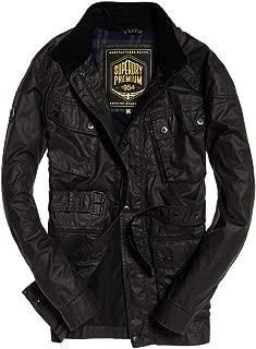 Superdry Mens SD Endurance Lite Jacket Black Olive