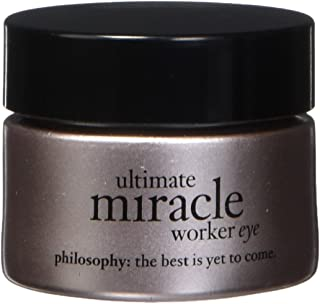 Philosophy Ultimate Miracle Worker Eye SPF 15 Sunscreen for Unisex 0.5 oz Eye Cream