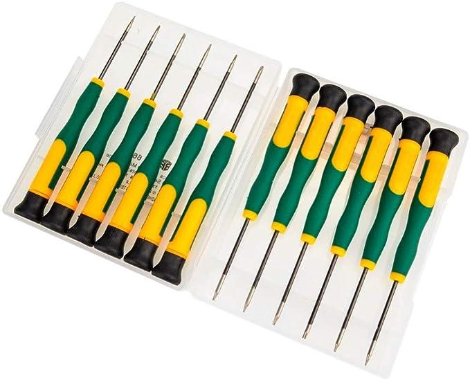 495 opinioni per MMOBIEL Kit con 12 cacciaviti magnetici per l'elettronica compatibile con iPad