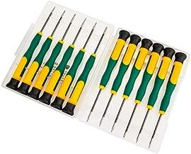 MMOBIEL Set de 12 Tournevis magnétiques pour réparations électronique: iPhone, iPad, Macbook Pro/Air, Pc Portables, Smartphones (Samsung/Nokia/Huawei / .), tablettes.