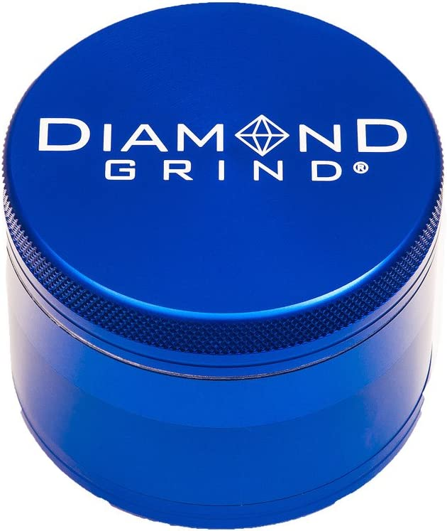 New Diamond Grind 2021 Edition 4 wit Piece Popular brand in the world New product!! Herb Grinder Aluminum