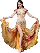 Besplore Women's Belly Dance Isis Wings,Costume Angle LED Isis Wings