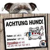 Hunde-Warnschild Schutz vor Bayern-Fans | Dortmund 09-, 1. FC Schalke- & alle Fußball-Fans thumbnail