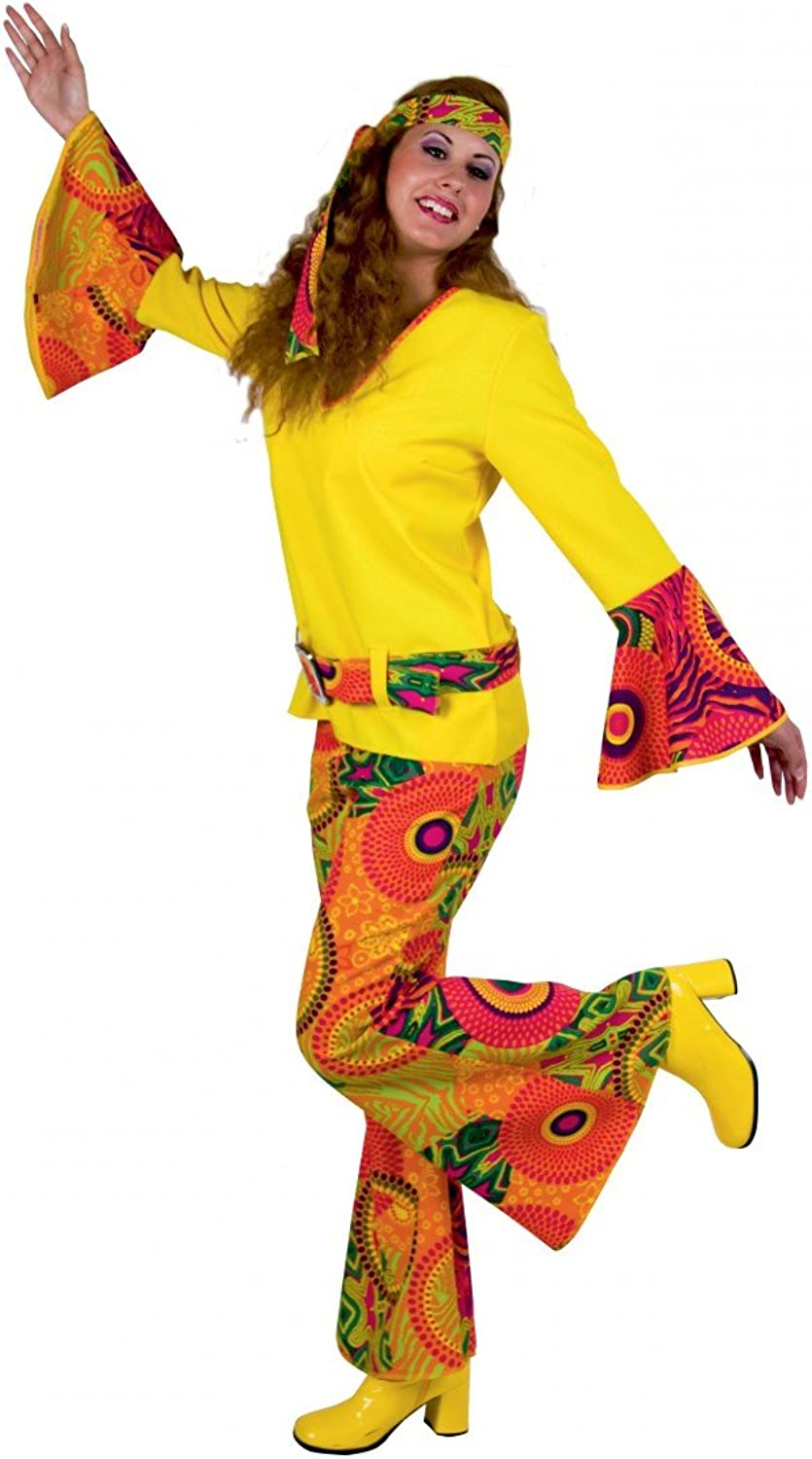 Adult Costume Hippie suit for ladies  size (german specification) 34 36