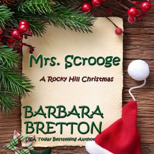 Mrs. Scrooge audiobook cover art